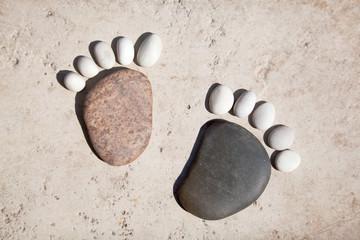 Steinfüße