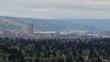 Panoramic View of Portland Oregon City from Mount Scott Panning