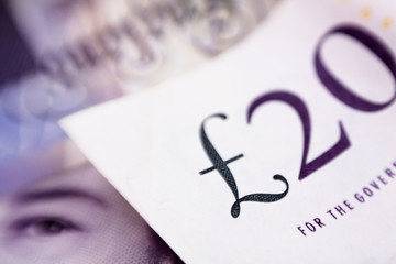 pounds banknote sign