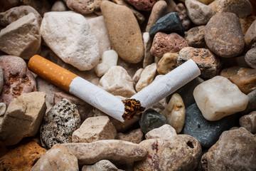 Broken cigarette