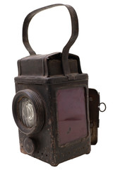 The retro railroad lantern
