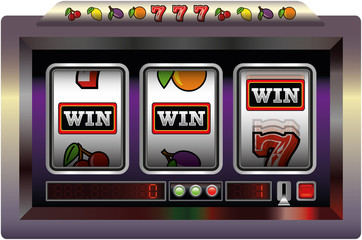 Slot Machine - Win (Spiel Automat - Win)