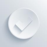 Fototapety Vector light circle icon. Eps10