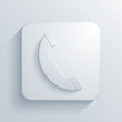 Vector light square icon. Eps10
