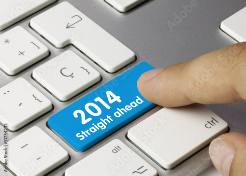 2014 Straight ahead keyboard key