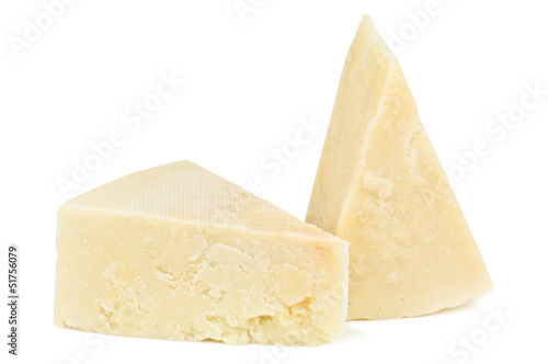 pecorino on white