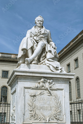 Statue of Alexander von Humboldt in Berlin