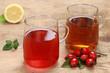 Echte Hagebutte und Rooibos Tee