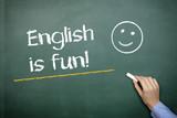 Fototapety english is fun