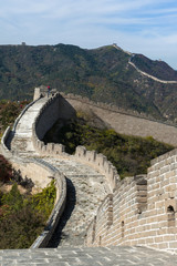 Great Wall on the mountain
