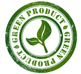 green product stamp
