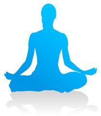 Yoga - Lotossitz (Padmasana)