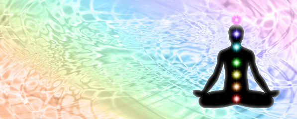 Lotus Position Meditation Website Header