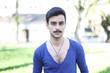 junger türkischer Mann