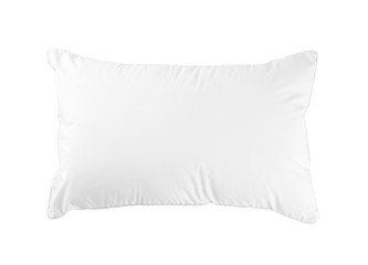 Hygiene pillow fit your bedroom isolated on white background