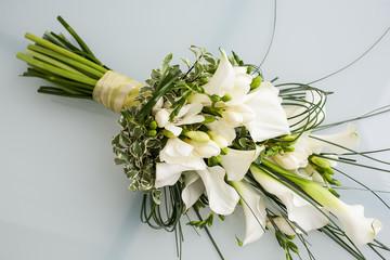 arum lily bouquet