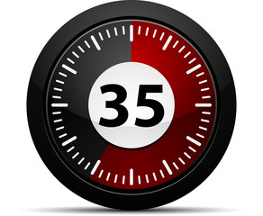 35 Minutes Timer
