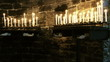 Burning candles in Church of Saint Peter, Portovenere