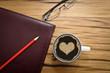 Kaffee Herz Liebe