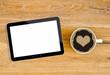 Tablet PC  Kaffee