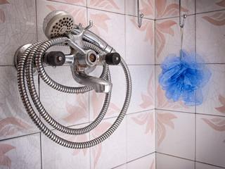 Grunge bathroom