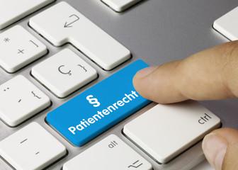 § Patientenrecht tastatur finger