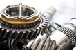 Leinwanddruck Bild - Gearbox parts.