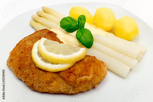 Schnitzel mit Spargel_2