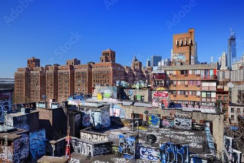 Graffiti Rooftops in New York City