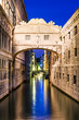 Ponte dei Sospiri in Venice, Bridge of Sighs
