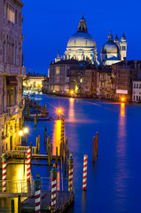 Grand Canal of Venice by night