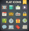 Universal Flat Icons for Web and Mobile Applications Set 2