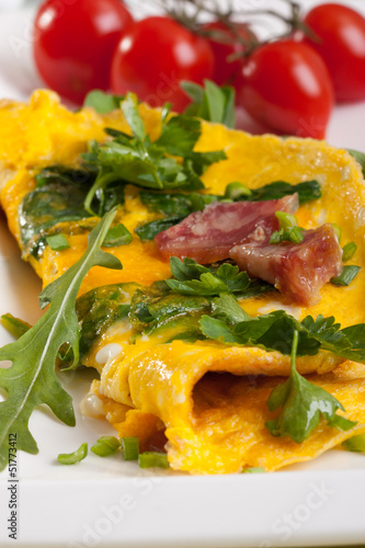 frittata - close up