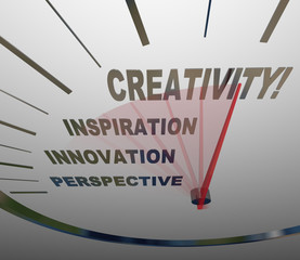 Creativity Innovation Imagination Speedometer New Ideas