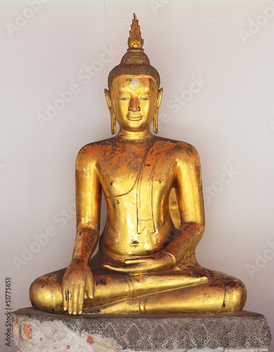 golden buddha figure