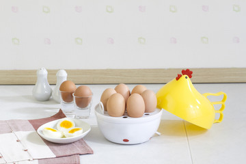 Egg boiler machine tool a useful home appliance kitchenware