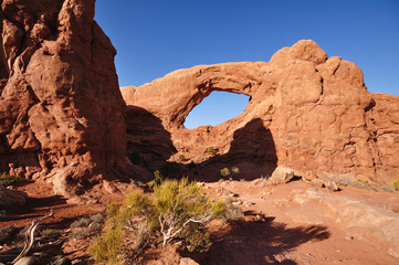 South Window Arch in Arches National Park