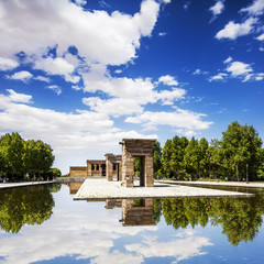 Temple of Debod (Templo de Debod), Madrid, Spain