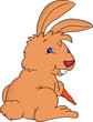 funny rabbit cartoon