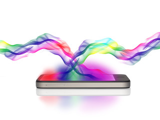 Smartphone mit Fabspiel