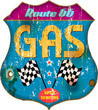 vintage gas station sign,vector