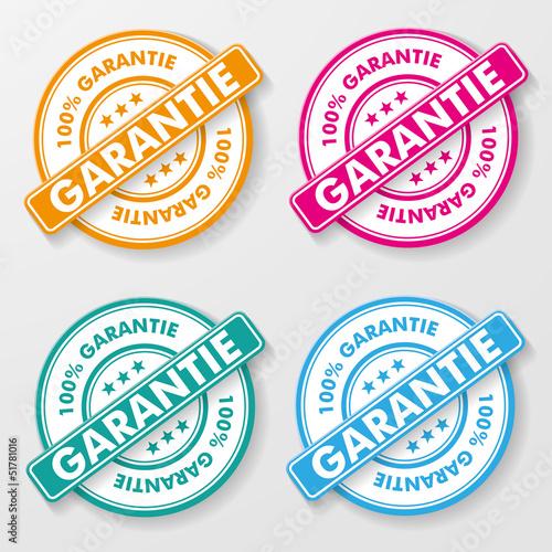 100 Percent Guarantee Paper Labels