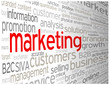 """""""MARKETING"""" Tag Cloud (products publicity advertising prices)"""