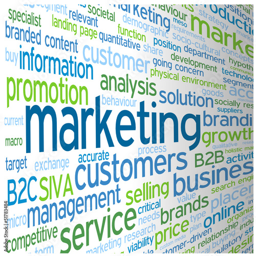 """""""MARKETING"""" Tag Cloud (advertising publicity prices products)"""