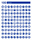 100 icons Web  communications