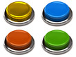 Set of clorful buttons
