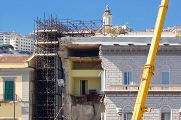 Palazzo crollato