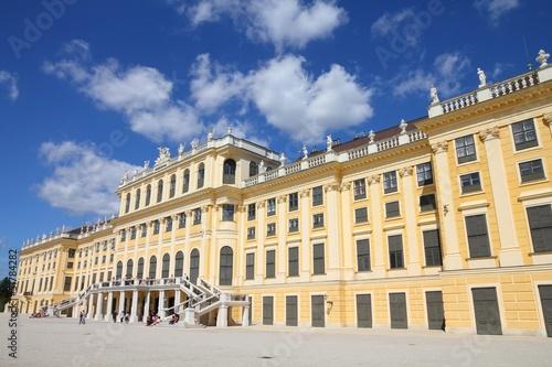Vienna palace - Schoenbrunn castle, UNESCO site
