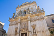 Basilica Church of St. Giovanni Battista. Lecce. Puglia. Italy.