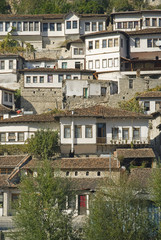 berat old town in albania